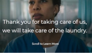 FREE Tide Laundry Services for Health Care Workers and First Responders