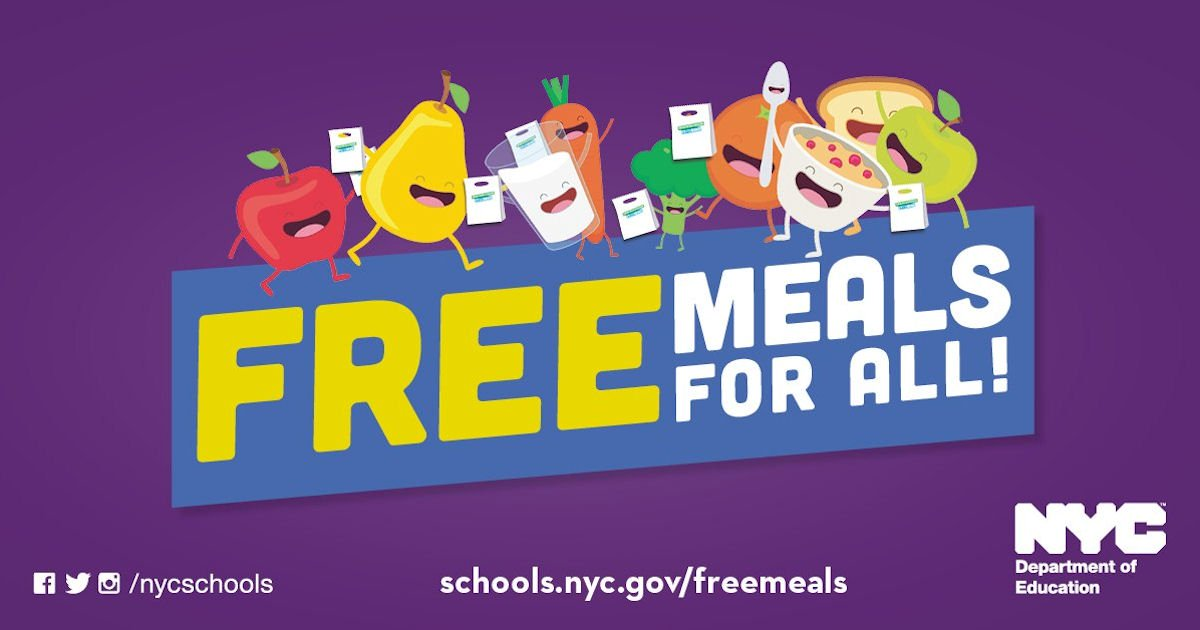 3 Free Meals Every Day for Any New Yorker