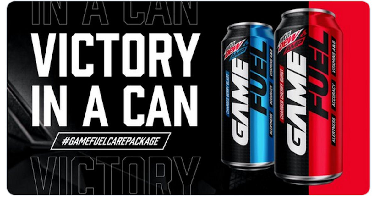 Free Mtn Dew Amp Game Fuel