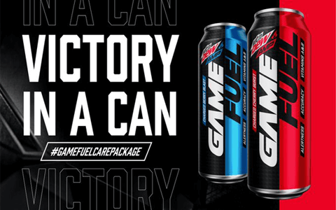 FREE 12 pack of MTN DEW AMP GAME FUEL or MTN DEW AMP GAME FUEL