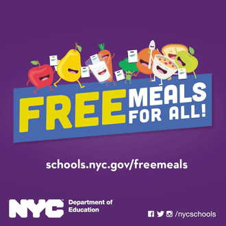 Three FREE Meals a Day for New Yorkers