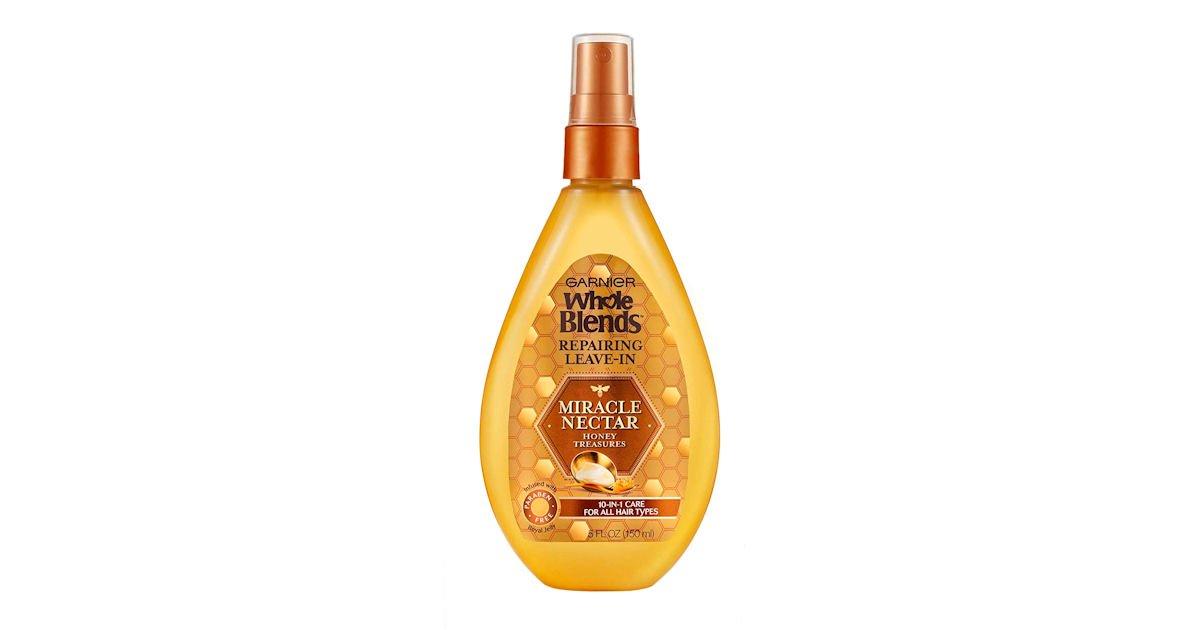 Free Garnier Whole Blends Miracle Nectar Repairing Treatment