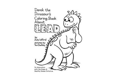 Derek The Dinosaur Coloring Book for Free