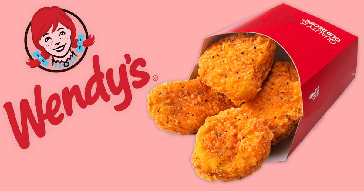 Free 4-Piece Chicken Nuggets at Wendy's on April 24th