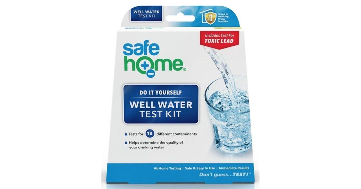 Free Aqua Science Water Test Kit