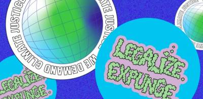 Free Green Week Sticker