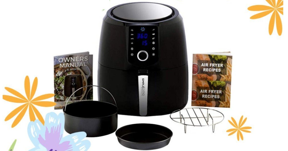 Win a Simple Living Air Fryer