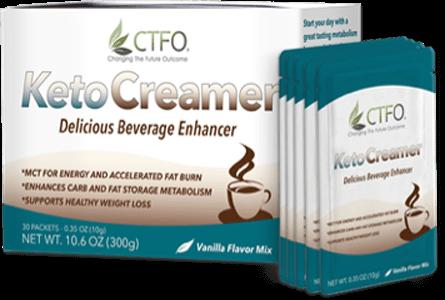 FREE KETO Coffee Creamer Sample