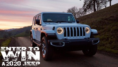 2020 Jeep Wrangler Sweepstakes