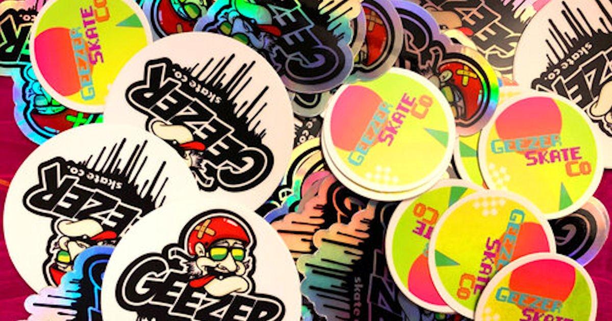 Free Geezer Stickers