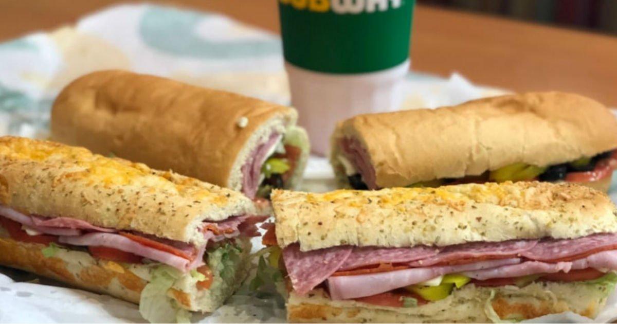 Buy One Get One FREE Footlong Sub at Subway