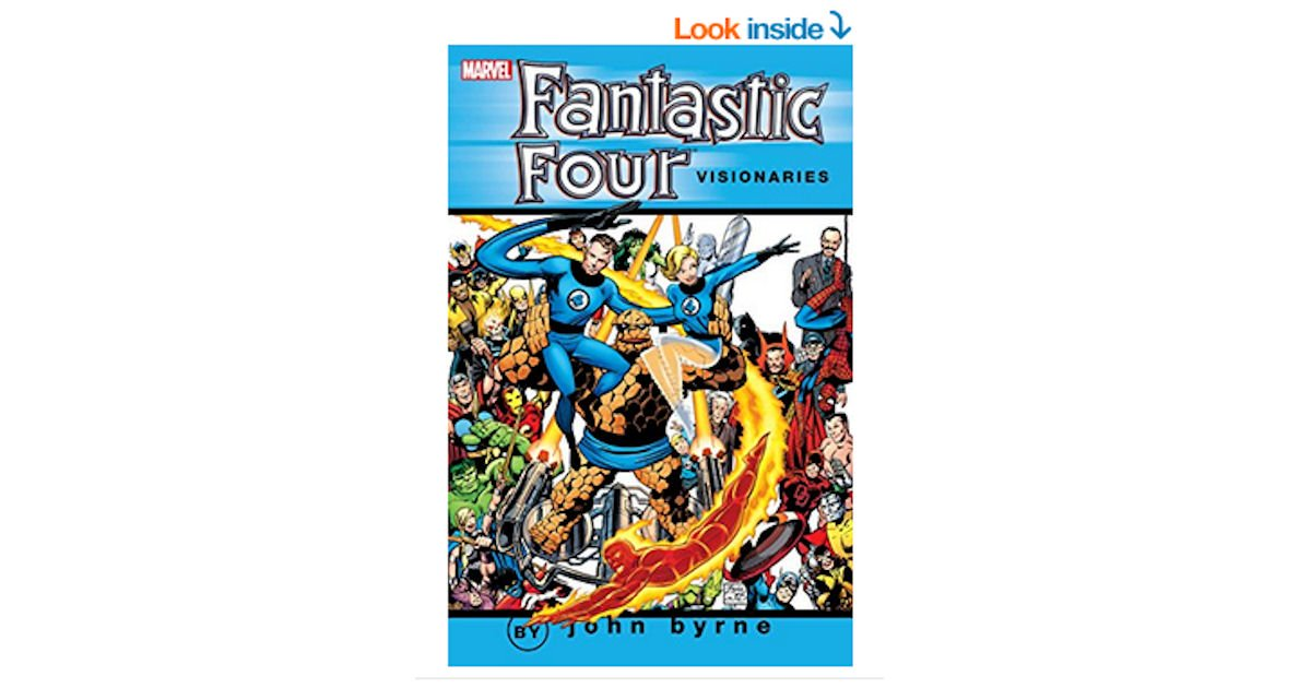 Free Fantastic Four Visionaries: Vol. 1 eComic