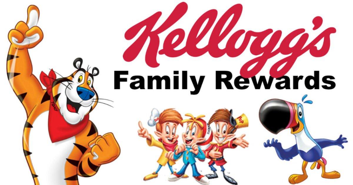 100 Free Kellogg's Family Rewards Points