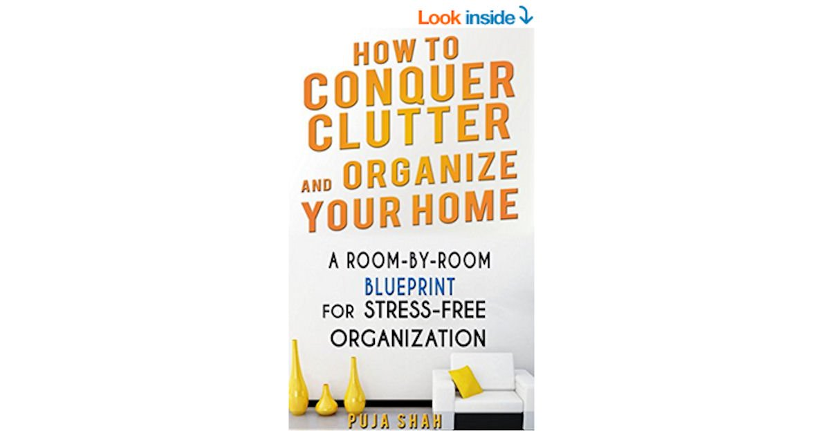 Free How To Conquer Clutter And Organize Your Home eBook