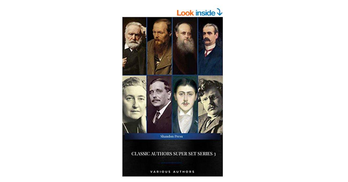 Free Classic Authors Super Set Series 3 eBook