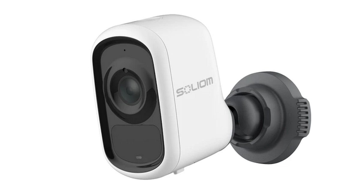 Free Soliom Battery Security Camera for Pet Owners
