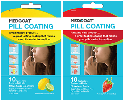 FREE Medcoat Candy Coating for Any Medicine Sample