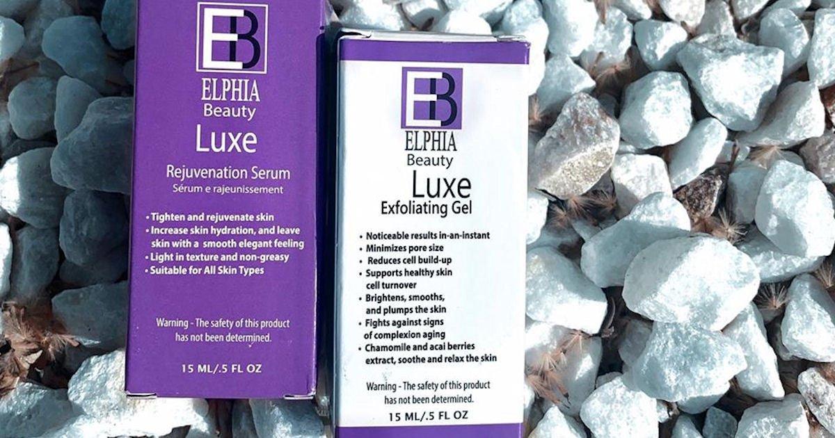 Free Elphia Beauty Exfoliating Gel & Rejuvenation Serum Sample