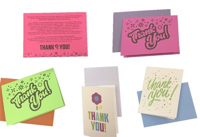 Thank You Cards for Everyday Heroes for Free