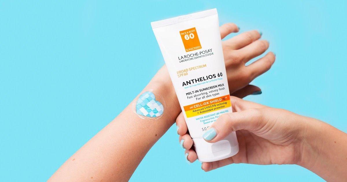 Free Sample of La Roche-Posay SPF 60 Melt-In Sunscreen Milk