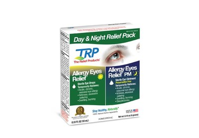 Allergy Eyes Day & Night Relief Pack for Free
