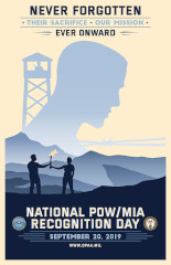 FREE 2019 National POW/MIA Recognition Day Poster