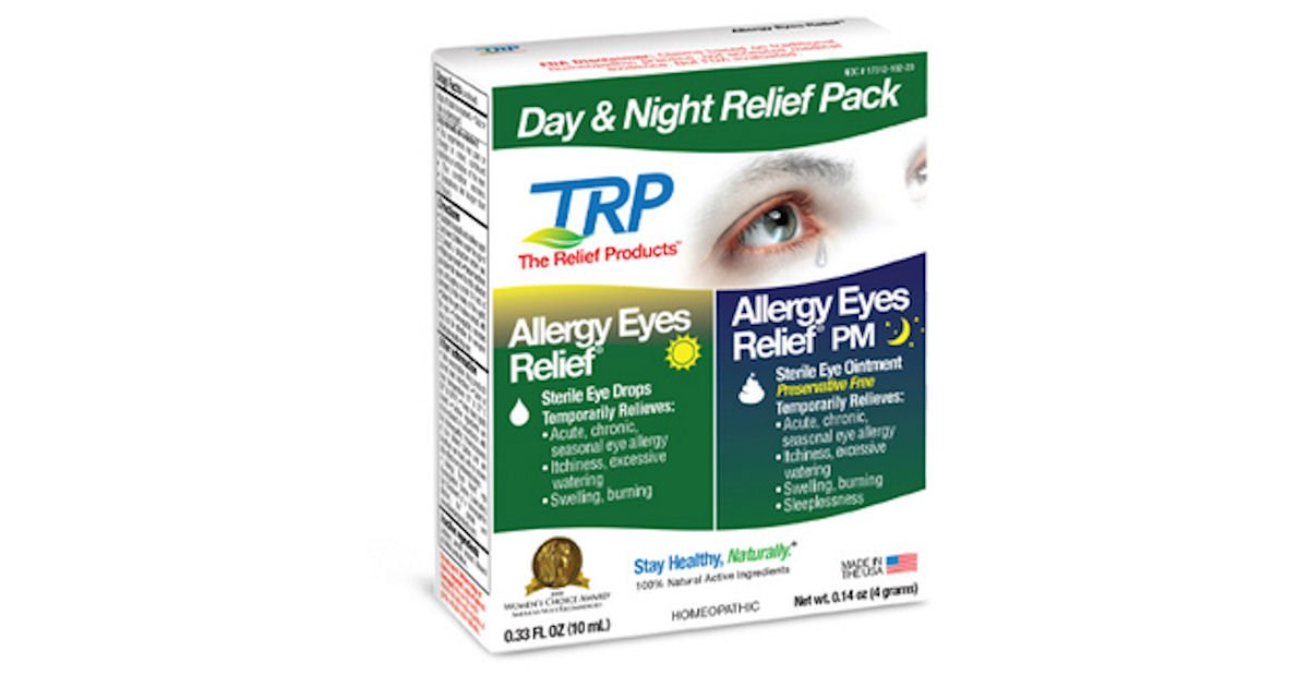 Free Allergy Eyes Day & Night Relief Pack