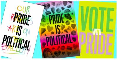 Free Posters - Pride is Political