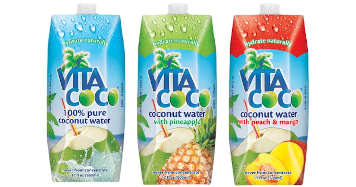 Free Vita Coco Coconut Water at Jewel