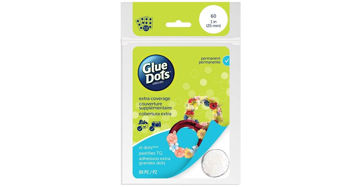 Free Glue Dots Sample