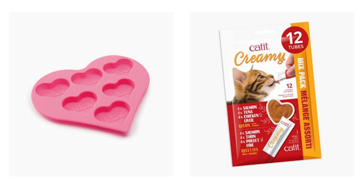 Free Catit Creamy Treats & Ice Tray
