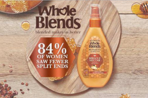 FREE Garnier Whole Blends Miracle Nectar Repairing Leave-In Sample