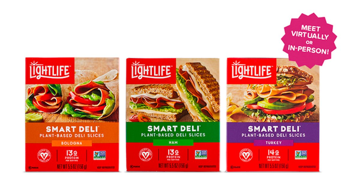 Free Lightlife Smart Deli Plant-Based Lunchmeat