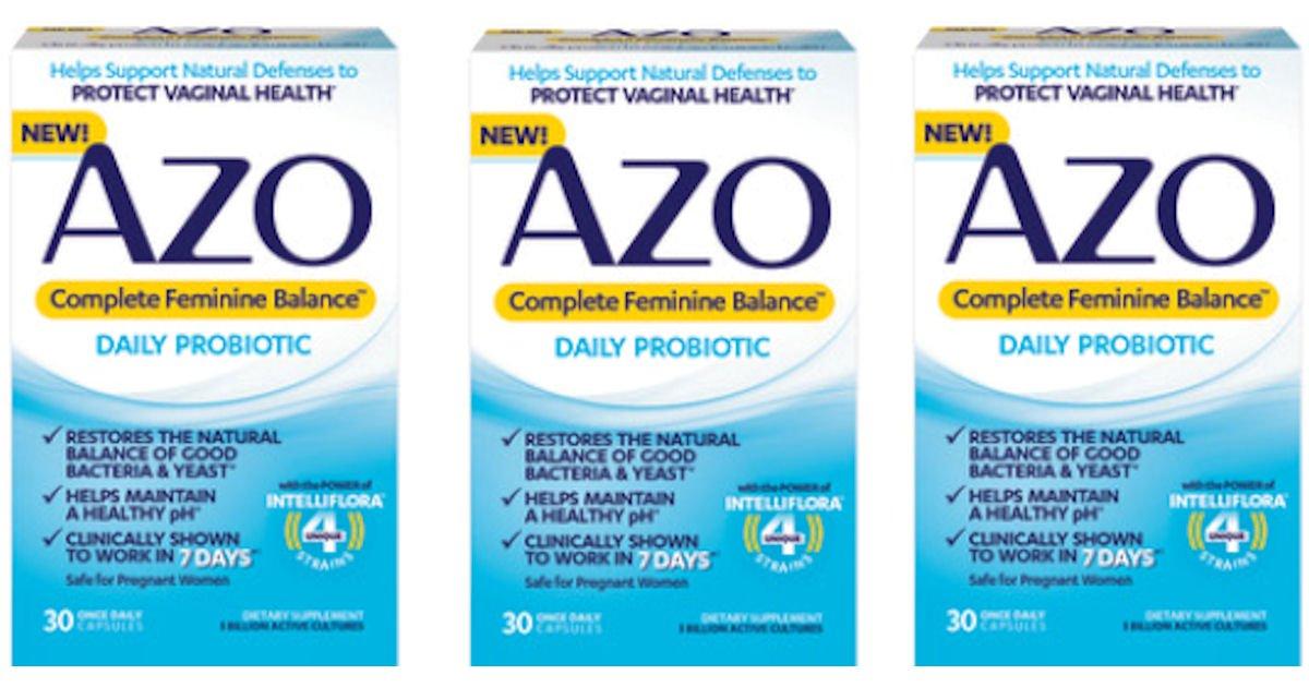 Free AZO Complete Feminine Balance