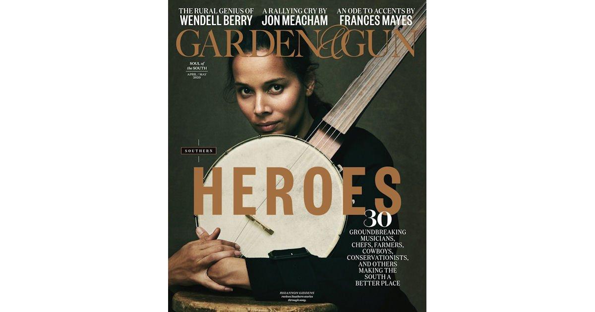 Free Digital Issue of Garden & Gun Magazine