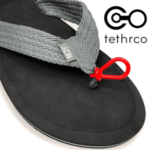 FREE Toe Tethers for Flip-flops