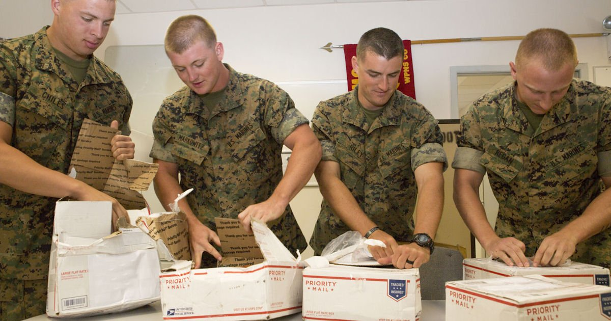 Free Monthly Care Package for Deployed Soldiers