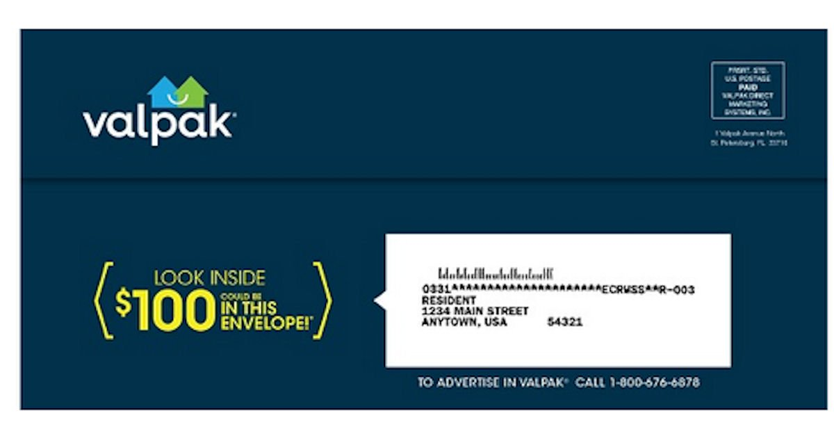 Free Valpak Coupons By Mail