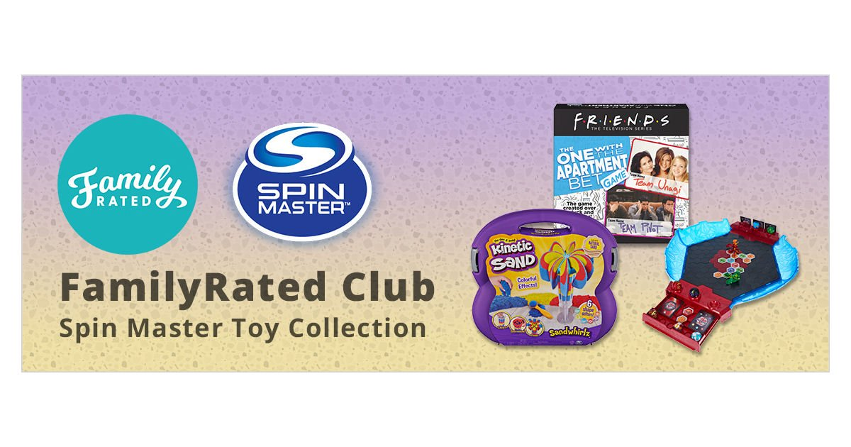 FamilyRated - Free Spin Master Toy Collection 2020