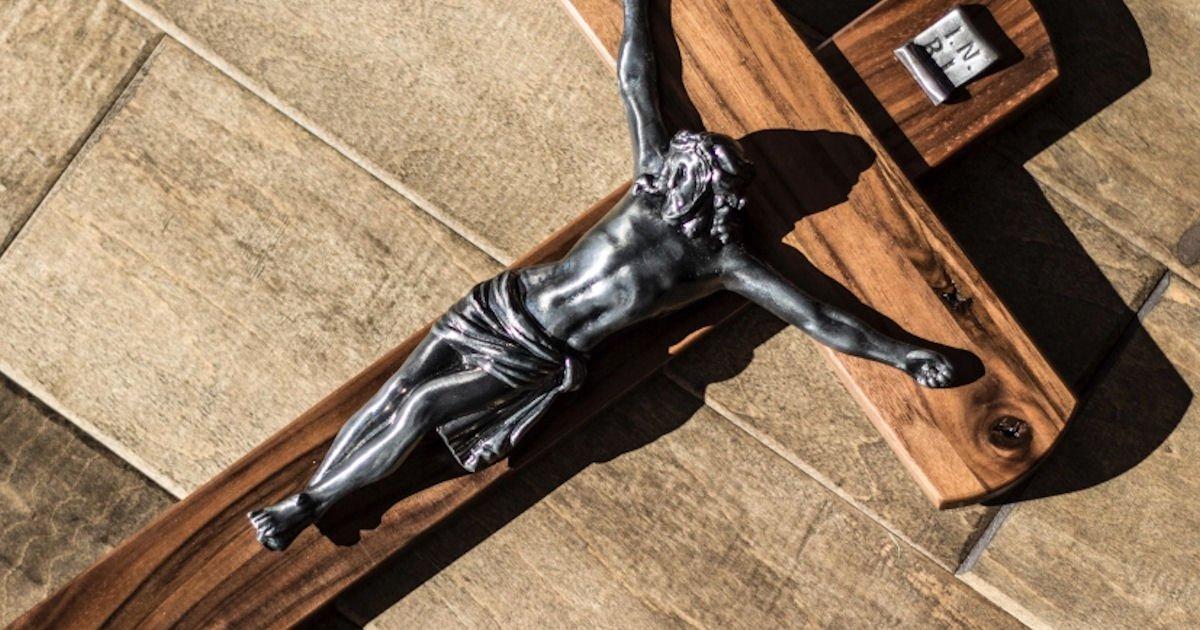Free Wooden Crucifix