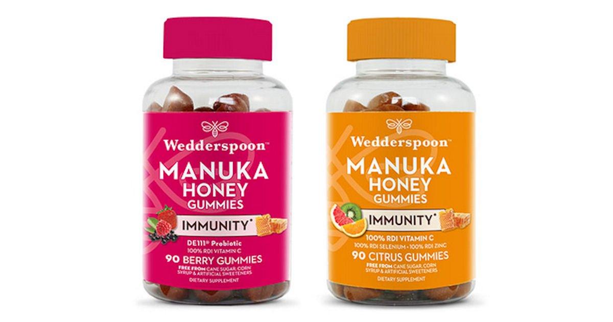 Free Wedderspoon Manuka Honey Immunity Gummies