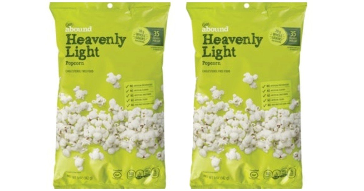 Free Gold Emblem Abound Popcorn at CVS - Today Only