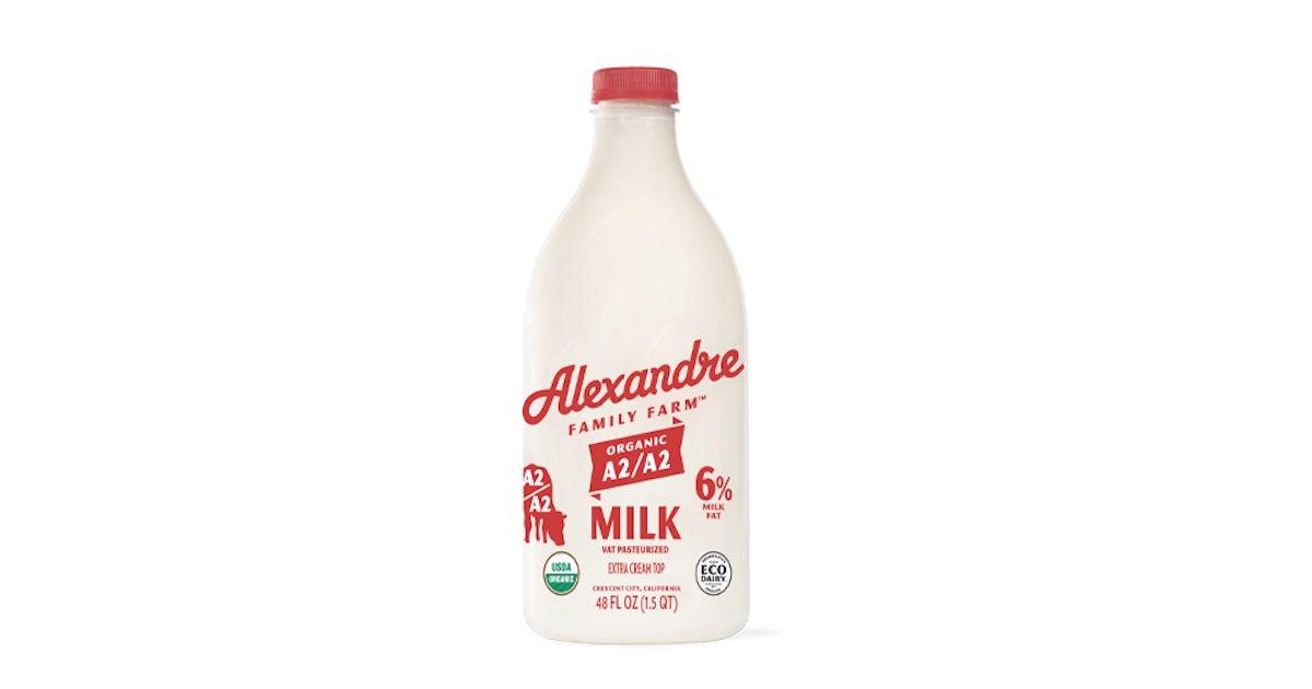 Free Alexandre Family Farm Organic Milk