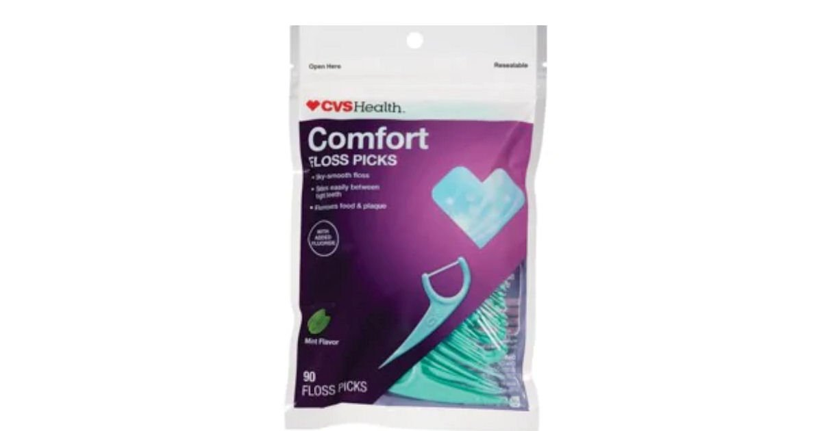 Free CVS Health Comfort Floss Picks at CVS