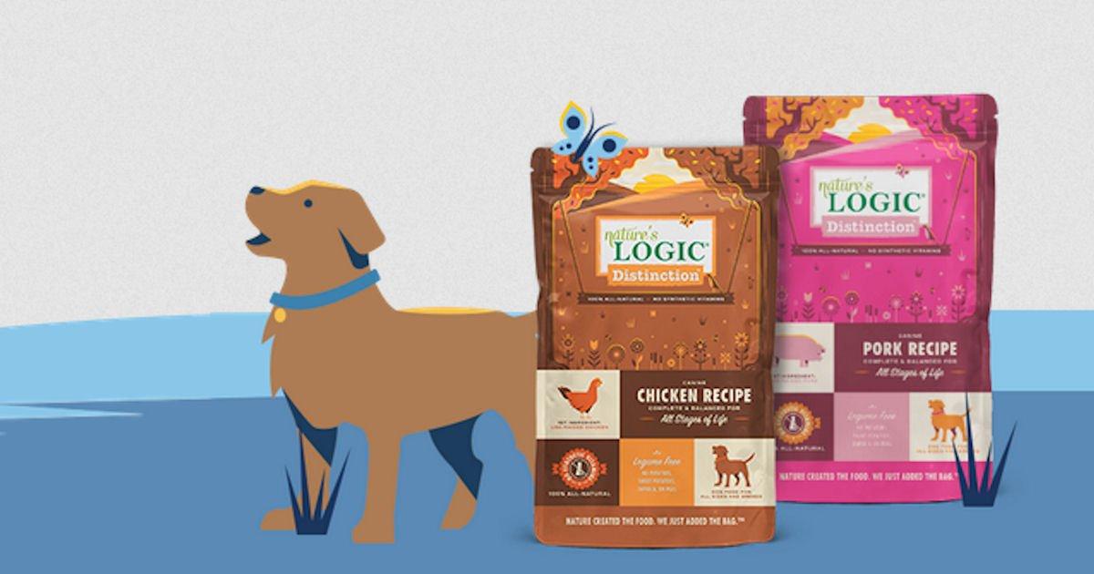 Free 1 lb. Bag of Nature's Logic Dog Food