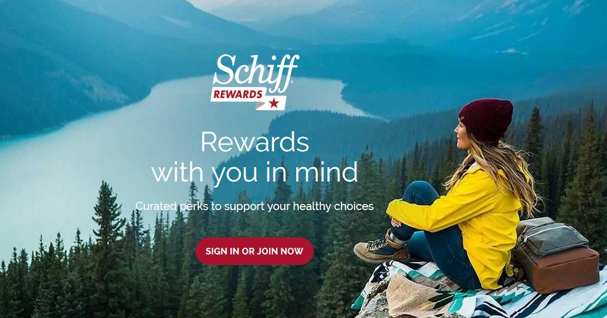 Free Rewards with Schiff Rewards