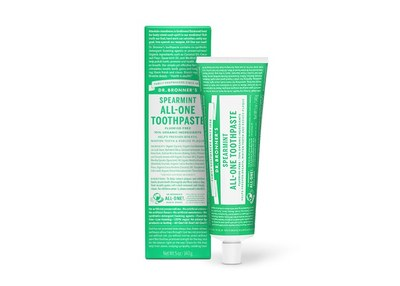 Dr. Bronner's Spearmint All-One Toothpaste for Free