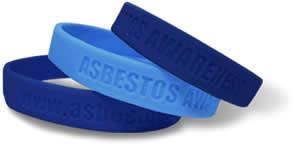 FREE Asbestos Awareness Wristband