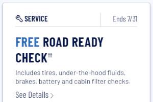 FREE Goodyear Car Check