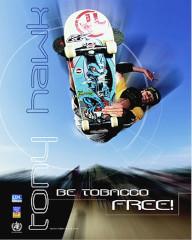 FREE Tony Hawk Be Tobacco Free! Poster